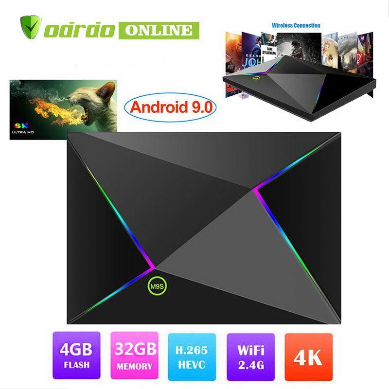 ndroid 9 0 TV Box M9S Z8 Allwinner H6 4GB 32GB 64GB TV Box Walmart Best Buy  Smart media player Support 2 4G Wifi LAN USB 3 0 3D 6K 4K
