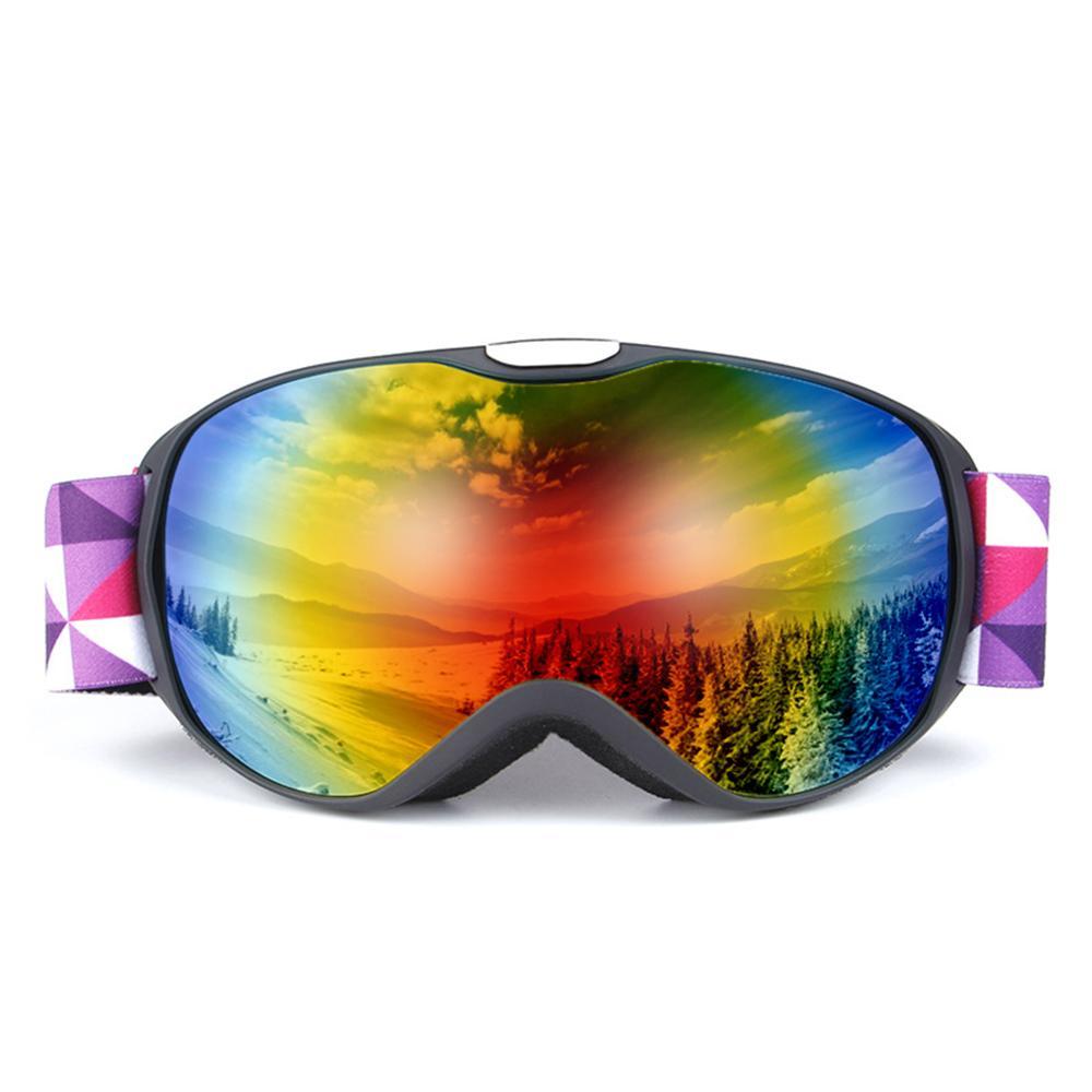 c761eb02f81 Anti-fogging Goggles Skiing OTG Goggle UV400 Protection Goggles ...
