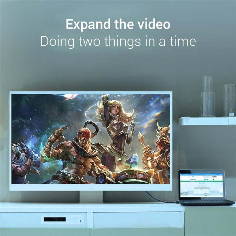 Mini DP DisplayPort Thunderbolt to HDMI Adapter Hub 1080P Mini DP Male To HDMI Female Adapter Cable for MacBook Pro Air Mac MQ300