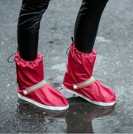 size 40 e4fe0 dd1d6 Rain Shoes Covers All Seasons Slip-resistant ReusableFlat Overshoes Outdoor  Tool Shoe Accessories Outdoor Gadgets CCA11016 10pairs