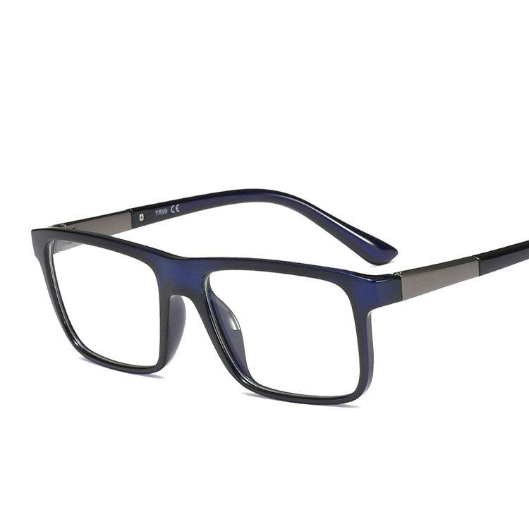 0e60e359a37 Brand Design New Tr90 Square Retro Glasses Frames Men Women Optical ...