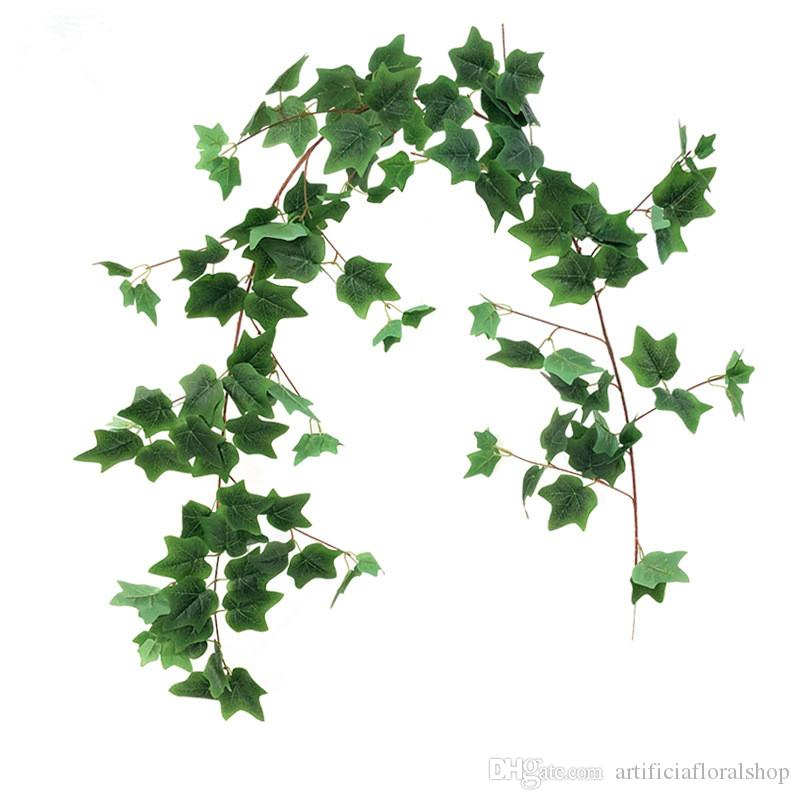 5Pcs 27.5Ft Artificial Ivy Leaf Garland Plants Vines with Leaves Hanging Greenery Fack Ivys Vines for Wedding Outside Party Home Decor