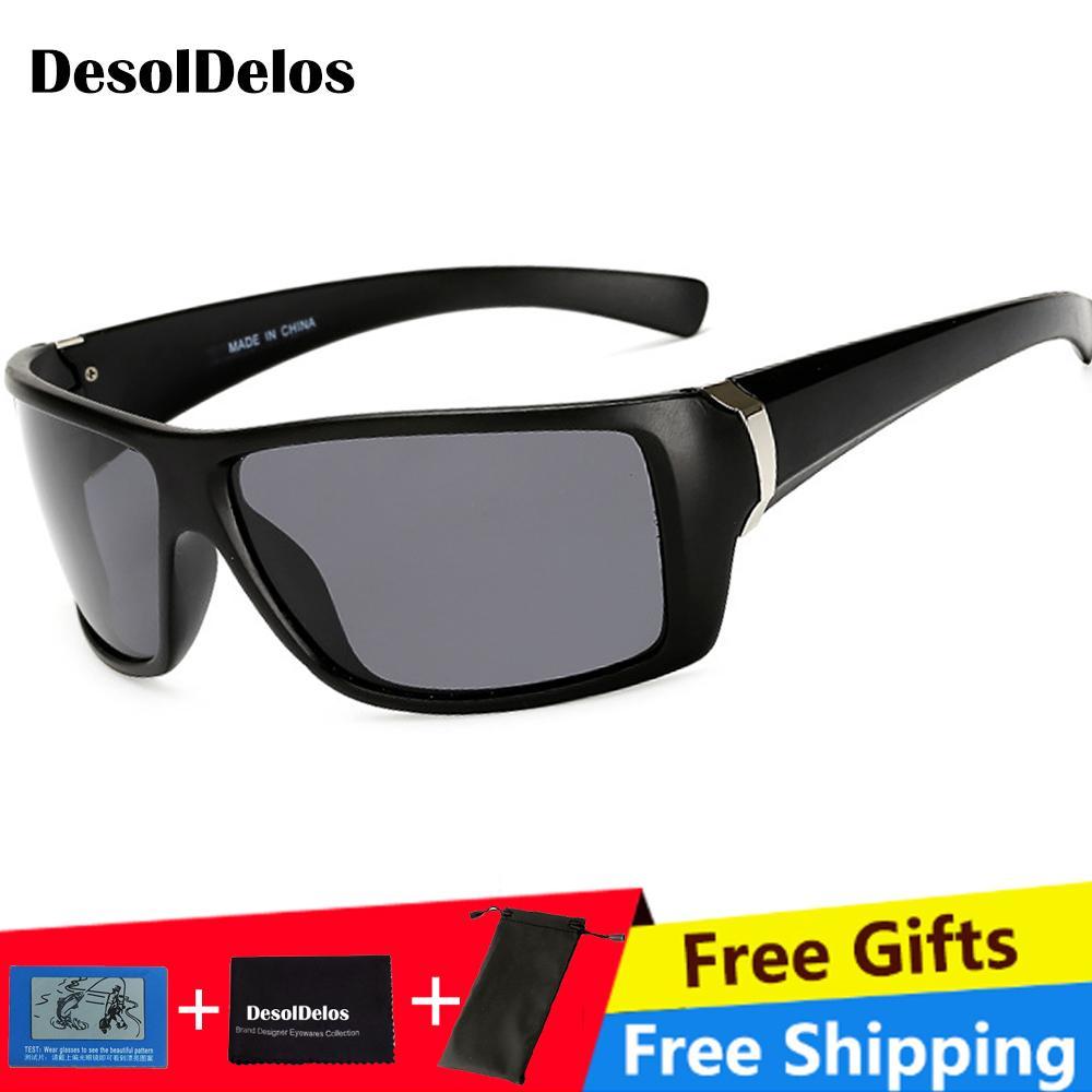 e9681cddbf Compre Gafas De Visión Nocturna Para Faros Polarizados Gafas De Sol De  Conducción Lente Amarilla UV400 Protección Noche Gafas Para El Conductor  2019 A $40.3 ...
