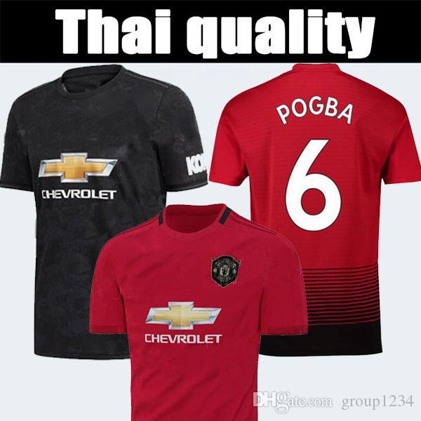 premium selection 0768e 34caa Man Utd jersey pogba jersey Alexis Lukaku Jersey 19 20 Fan version Thailand  top quality soccer uniform tracksuit