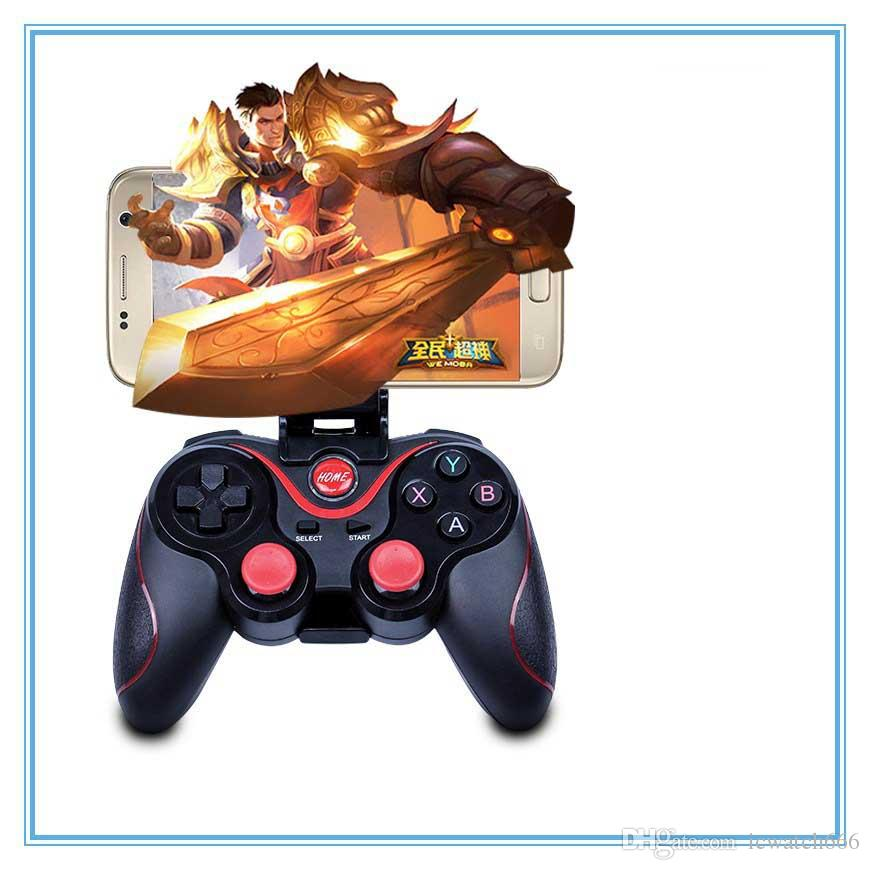Factory prices Bluetooth Gamepad Joystick c8 Game Wireless Gamepad Joystick for IOS Android Smartphone Tablet PC stand Remote Controller