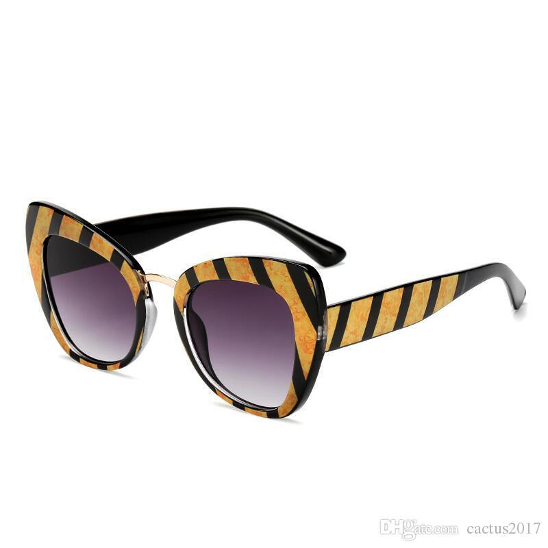 Acheter Marque Design Lunettes De Soleil Femmes Lunettes De Soleil Cat Eye Lunettes  De Soleil Classique Vintage Shades Gafas Oculos De Sol UV400 De  10.41 ... e36d6be58e08