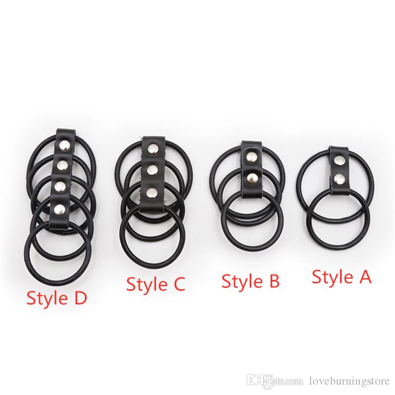 Sweet Magic Silicone Cock Ring For Penis Enlargement Delay For Men Extender Intimate Goods Reusable Penis Rings Adult Game Sex Toys For Male