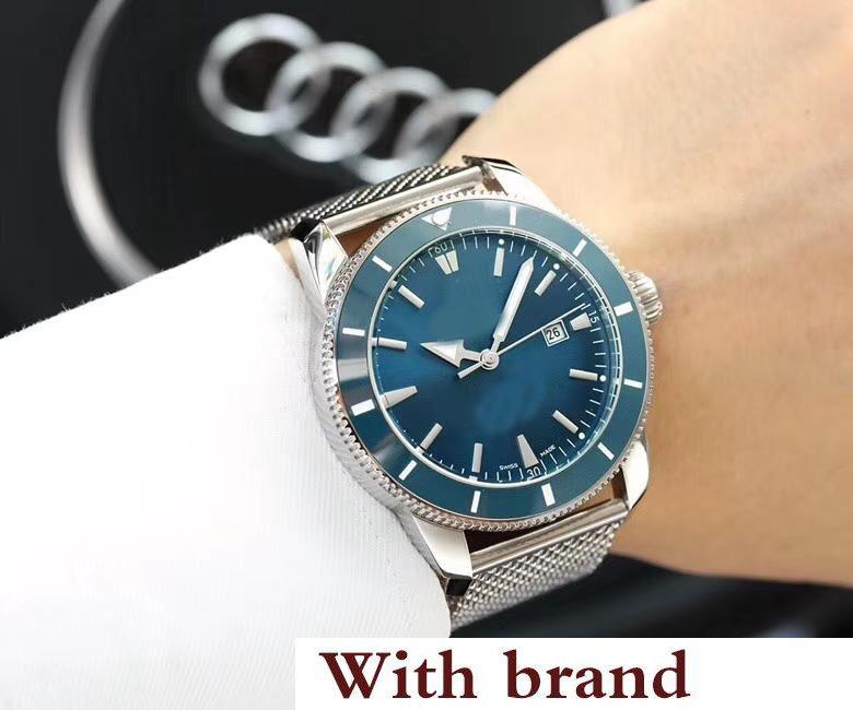 Luxury Citizen Automatic Watch Men Super Ocean Ceramic Bezel White Dial 316 Stainless Band Mechanical Watch Montre Homme