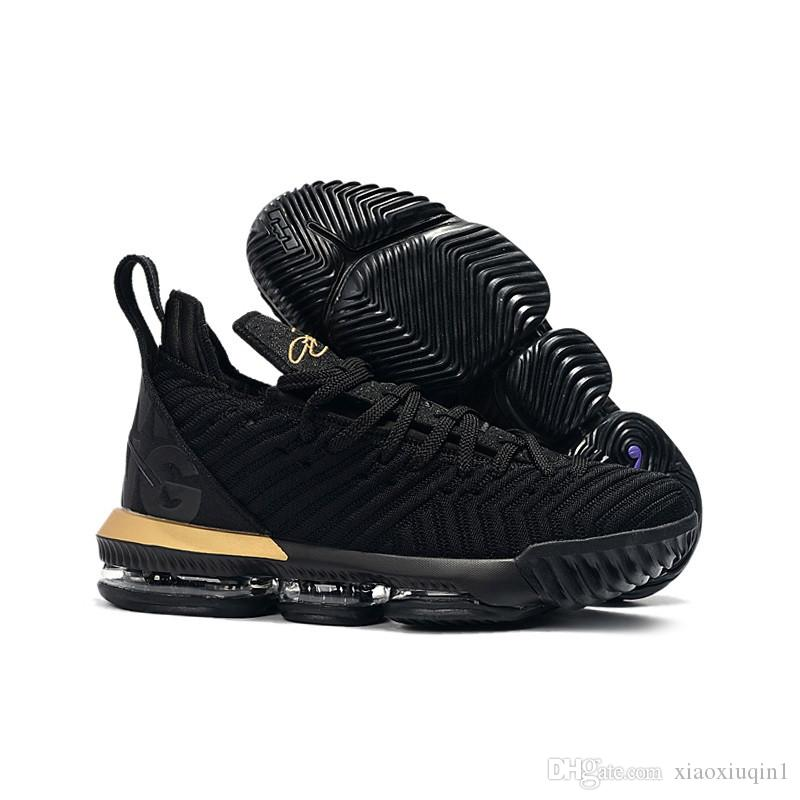c587e8e10e02 2019 What The Lebron 16 Women Basketball Shoes For Sale MVP Christmas BHM  Oreo Black Gold Youth Kids Generation Mens Sneakers With Original Box From  ...