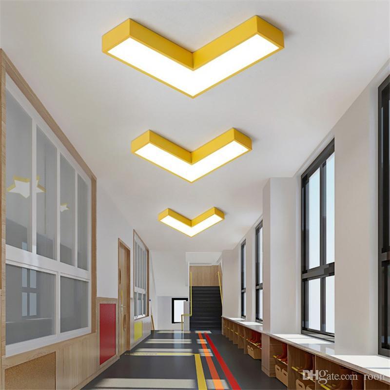 Acheter Couleur Moderne Lampe Creative Fleche Plafond Ultra 5cm
