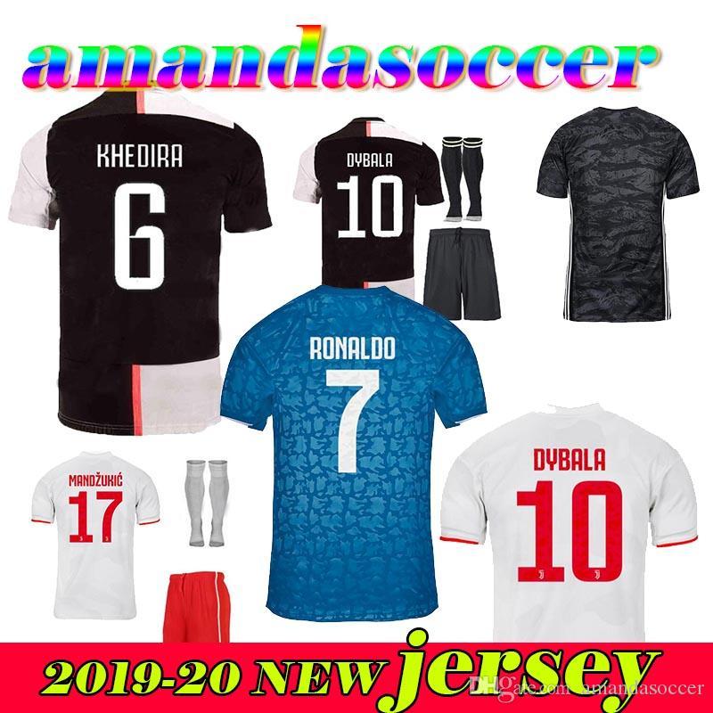 promo code 475ae 0c868 2019 RONALDO JUVENTUS Soccer Jersey 2020 JUVE kids Home away DE LIGT DYBALA  HIGUAIN BUFFON Camisetas Futbol Camisas Maillot Football Shirt