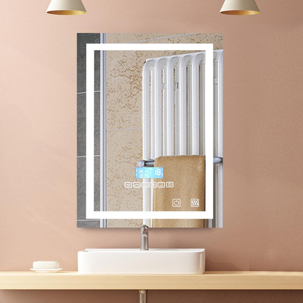 Illuminated Bathroom Mirrors | Modern Led Luxury Illuminated Bathroom Mirrors With Light Sensor