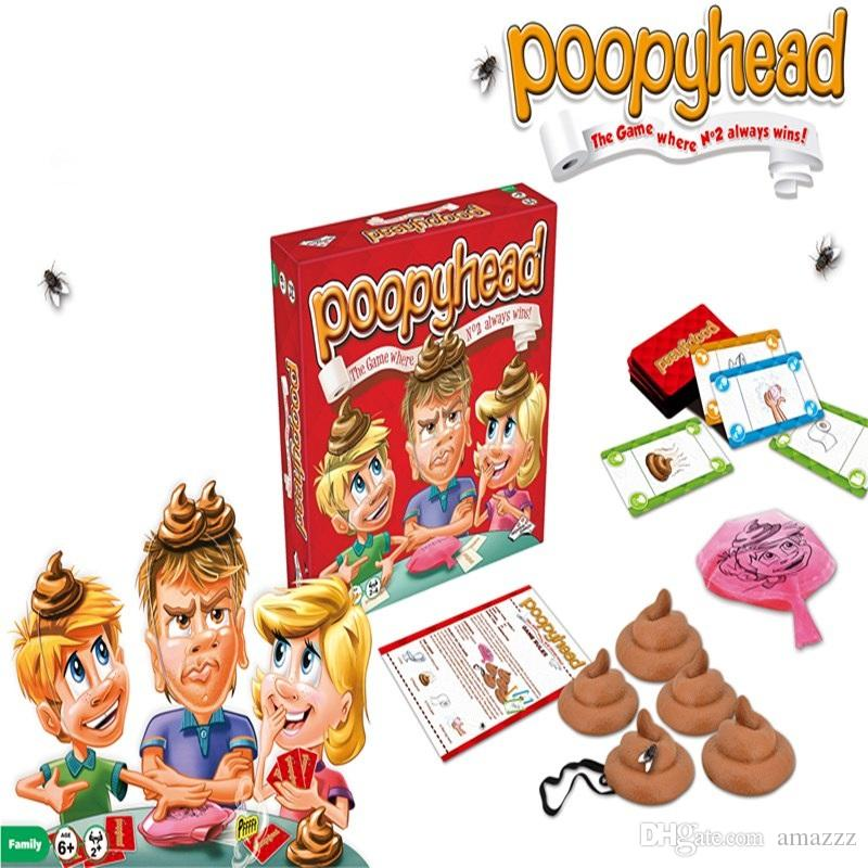 Poopyhead Card Games The Game Where Number 2 Always Wins Family Party Fun Board Games Tricky Toys Hot