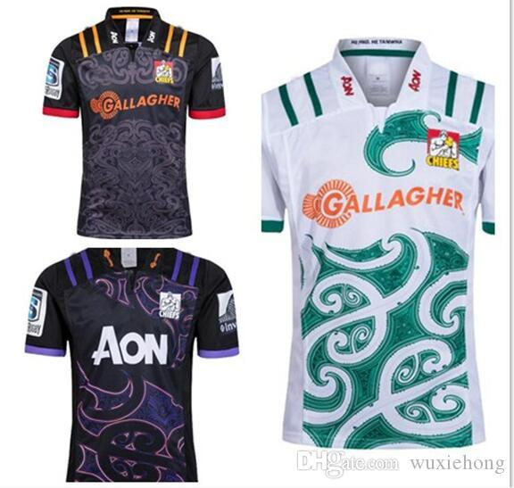 5692e5cb6 2019 AAA+ Chiefs Super Rugby Jersey 2018 2019 Home Away Rugby Jerseys NRL  National Rugby League Shirt Chief Training Shirts S 3xl From Wuxiehong