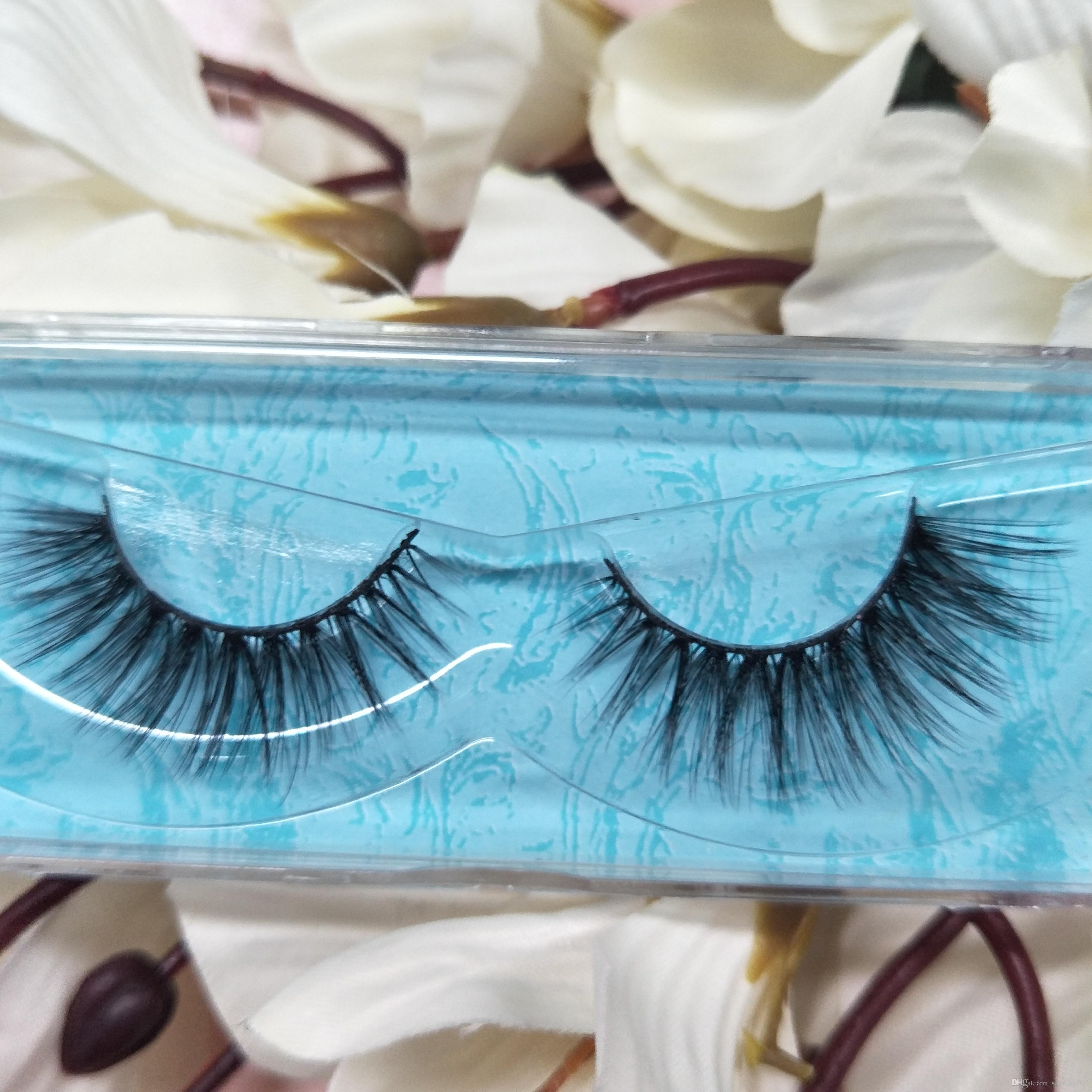 c9787fd9a1d SEASHINE 3D Full Mink Eyelashes Extension 100% Real Mink Fur 16 Style Eye  Lahses Natural Long Strip Eyelashes Car Eyelashes Fake Lashes From  Seashine003, ...