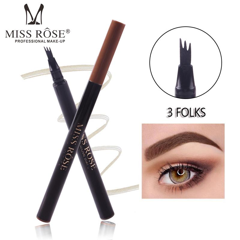 Miss Rose Microblading Eye Brow Pencil Fork Tip Sketch Eyebrow