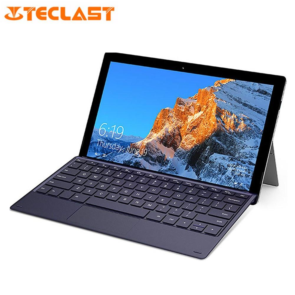 Teclast X4 2 in 1 Tablet Laptop 11,6 Zoll Windows 10 Celeron N4100 Quad Core 1,10 GHz 8 GB RAM 128 GB SSD 5,0 MP HDMI mit Tastatur