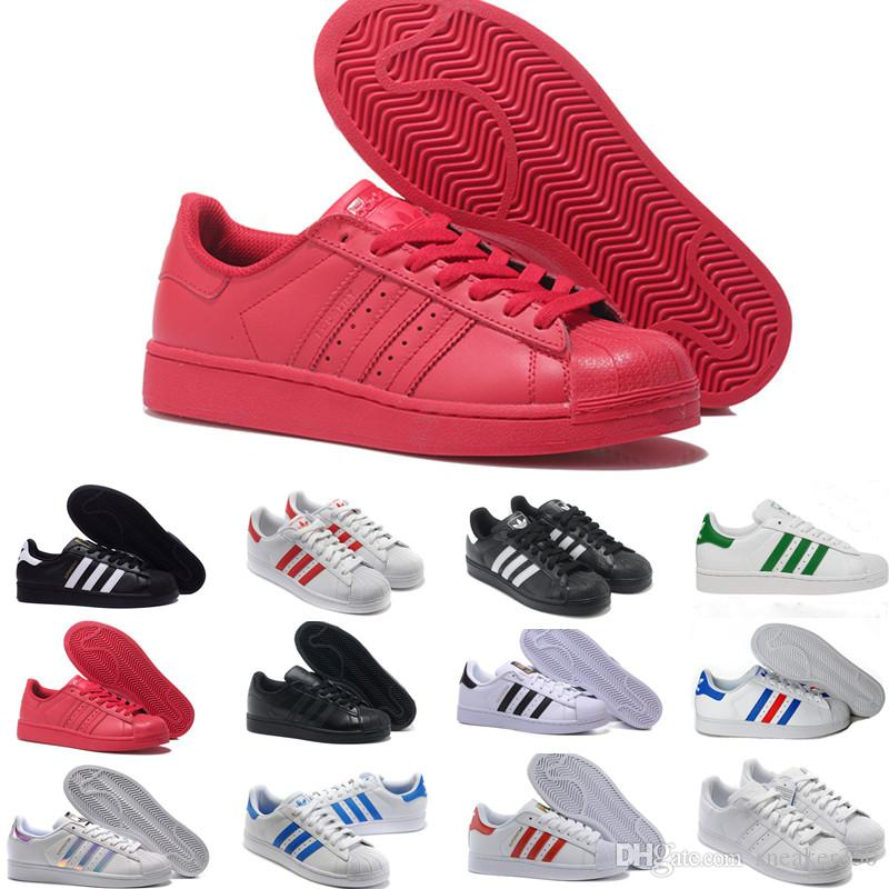 adidas superstar smith allstar 2019 originaux superstar hologramme blanc iridescent junior superstars des années 80 fierté baskets super star femmes hommes sport casual chaussures