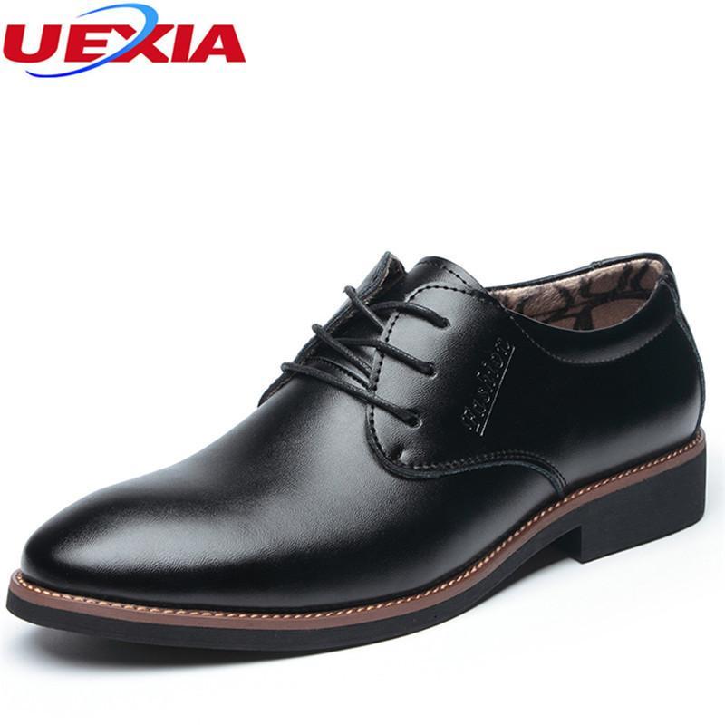 Großhandel UEXIA Winter Schuhe Männer Warme Leder Casual Dress Männer Schuhe  Plüsch Oxfords Für Büroarbeit Warme Formale Hochzeit Brogue Spitz Von  Ycqz4, ... 7c285fee91