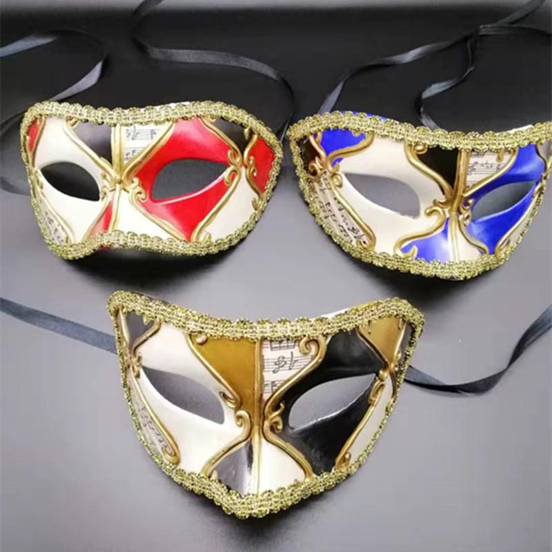 Carnival Masquerade Party Masks Fashion Women Sexy Mask High Quality Hallowmas Venetian Eye Easter Dance Party Holiday Mask
