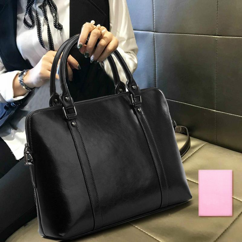2019 men and women bag computer handbag large capacity business professional ladies fashion briefcase