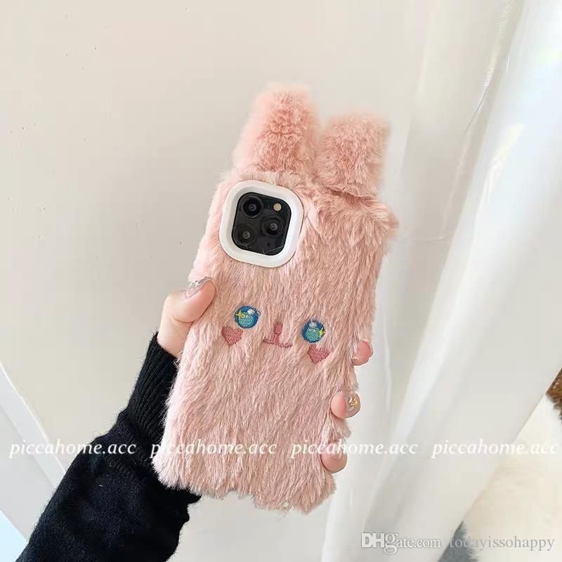 L'autunno e l'inverno peluche orso 8plus di Apple x Custodia iPhone / iPhone 11Pro x femmina 7 puro