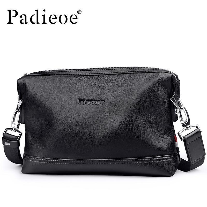 3df6e89991dc Padieoe Luxury Brand Genuine Leather Handbag For Male Messenger Bag  Designer Leather Men Shoulder Bag Casual Male Crossbody Designer Handbags  Crossbody Bags ...