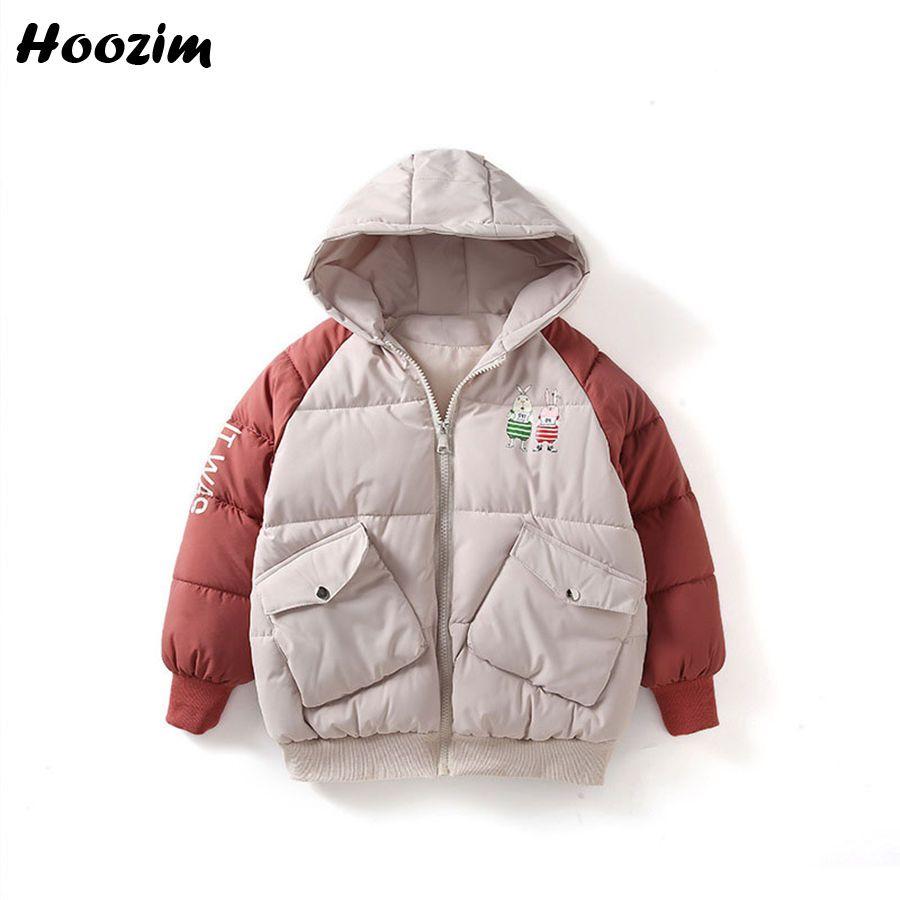 79d5780cf4c0 Beautiful Cartoon Rabbit Parka Children Winter Jacket For Girls 8 9 ...