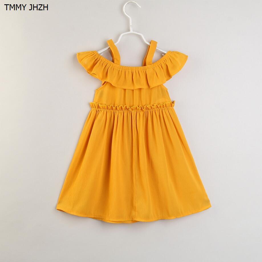 01bc0257f66ca9 Großhandel Baby Mädchen Kleid Marke Sommer Strand Stil Blumendruck Party  Backless Kleider Für Mädchen Vintage Kleinkind Mädchen Kleidung Von  Victorys09, ...