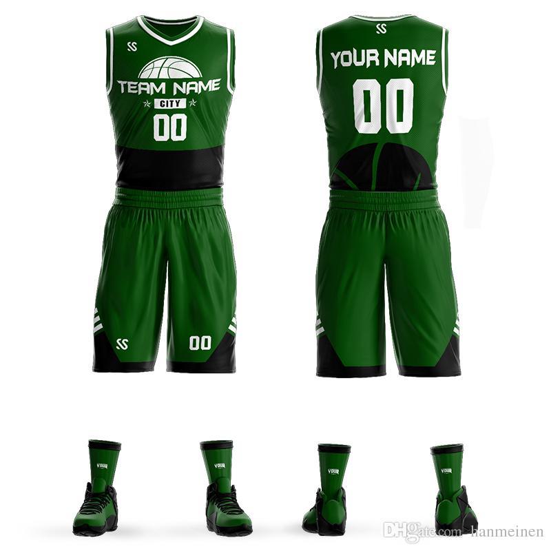 63066f95e Custom Name + Number Kids   Adult College Basketball Jerseys USA basketball  jersey Youth Cheap basketball Uniforms Set