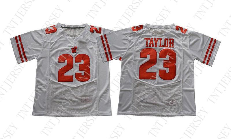 2019 Cheap Custom Jonathan Taylor Jersey  23 Wisconsin Badgers Football  Jersey Stitched Customize Any Number Name MEN WOMEN YOUTH XS 5XL From  Tntjersey 1e9f21c3f