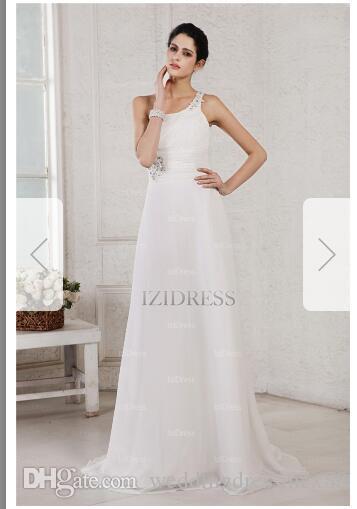 2432459a82595 A Line/Princess One Shoulder Sweep/Brush Train Chiffon Wedding Dress143 Wedding  Dresses Mermaid Lace Wedding Lace Dress From Weddingdressmcx88, ...
