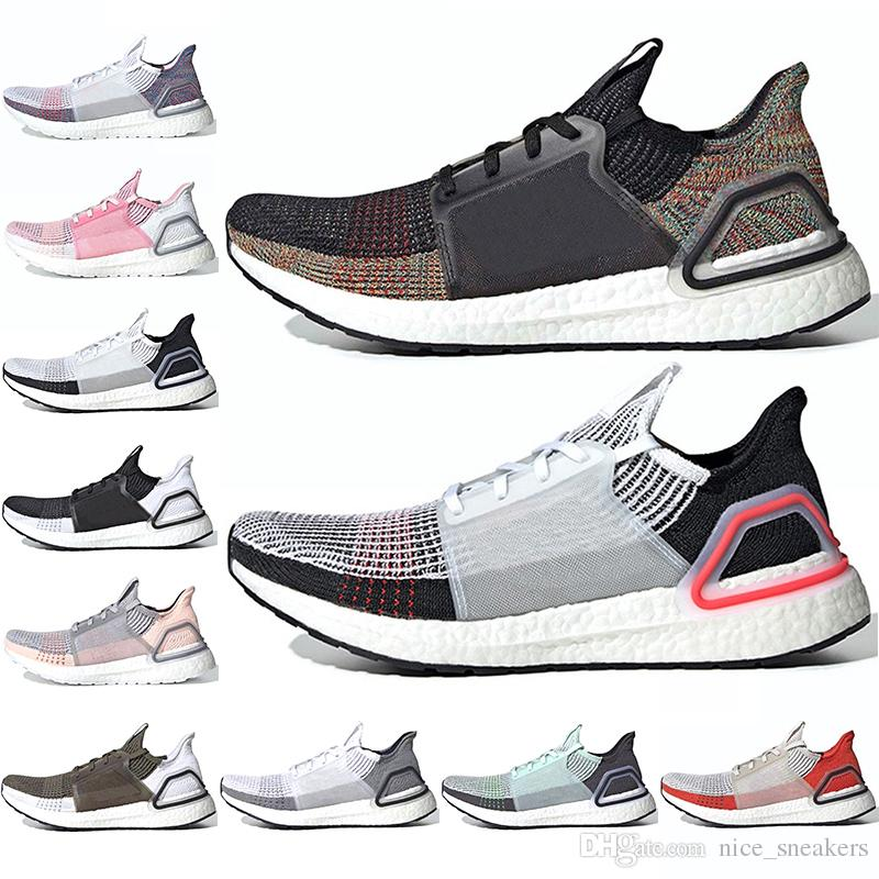 73b825169a821 Ultra Boost 5.0 Ultraboost 19 Mens Women Running Shoes Laser Red Dark Pixel  Refract Oreo Men Trainer Sneaker Sports Size 36 47 Mens Running Shoe Sports  ...
