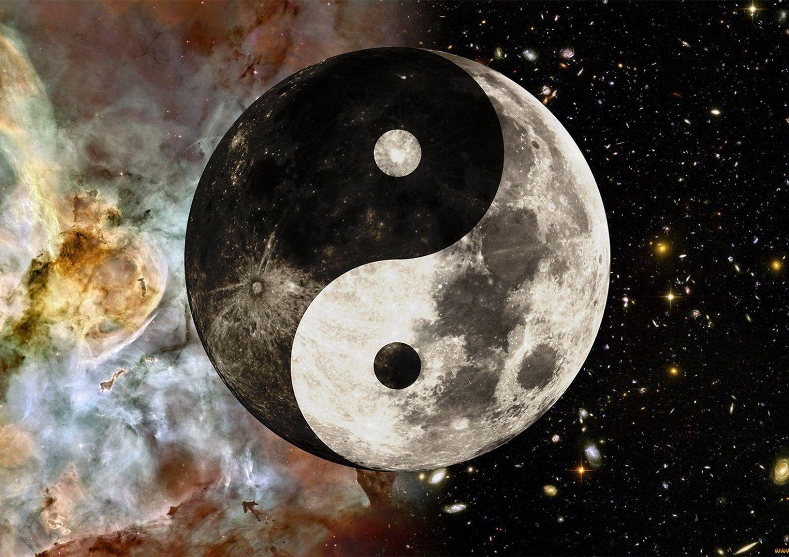 2019 Yin Yang Symbol Art Silk Print Poster 24x36inch60x90cm 018 From