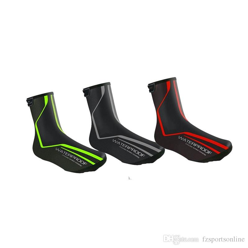 Ankle Support Shoes >> 2019 Hewolf Ankle Support Shoe Cover Pu Fabric Reflective Waterproof