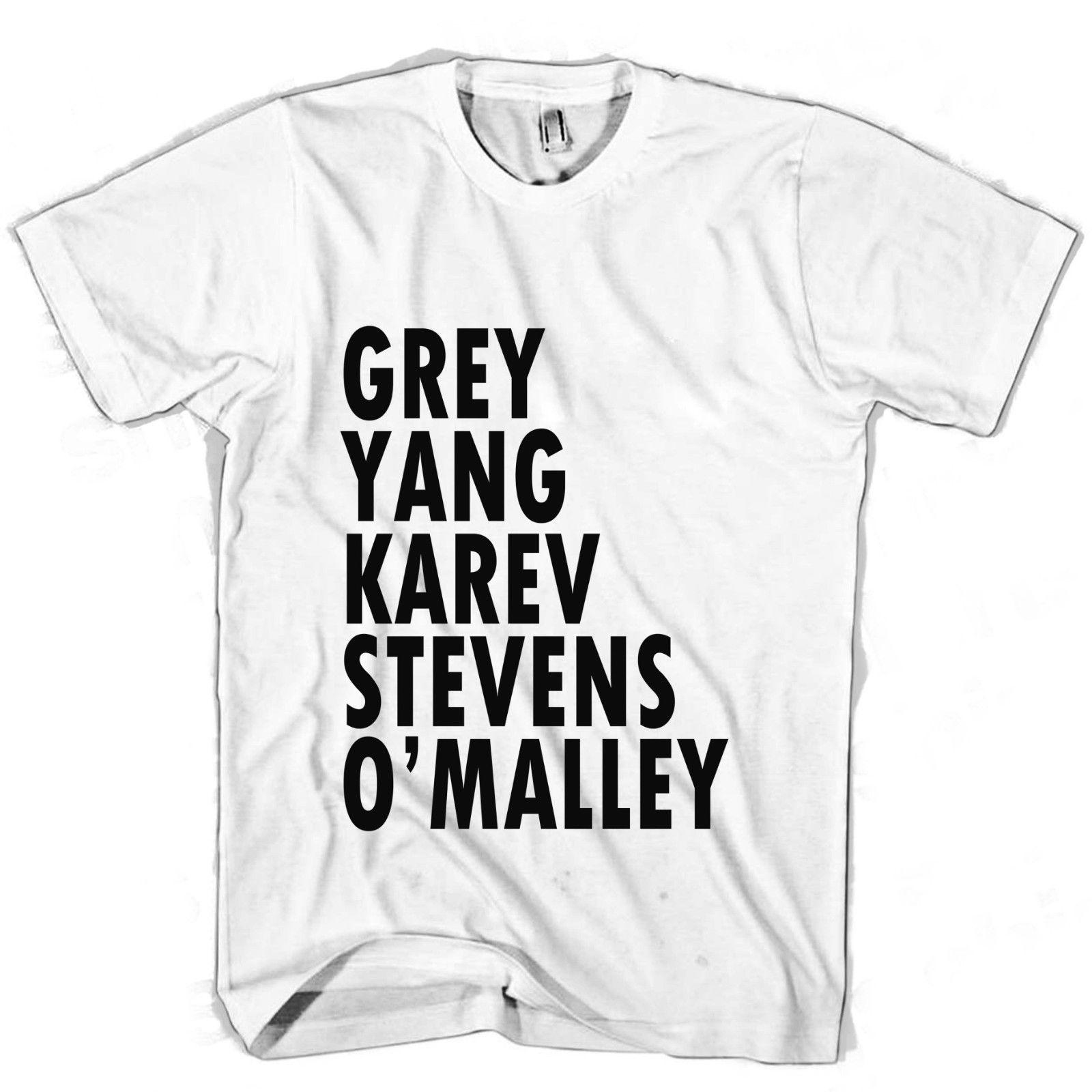 92640af0adb Greys Anatomy Greys fans Men's / Women's T Shirt wholesale free shipping  Tops Round Neck Tees Classical Top 100% Cotton Short Sleeve