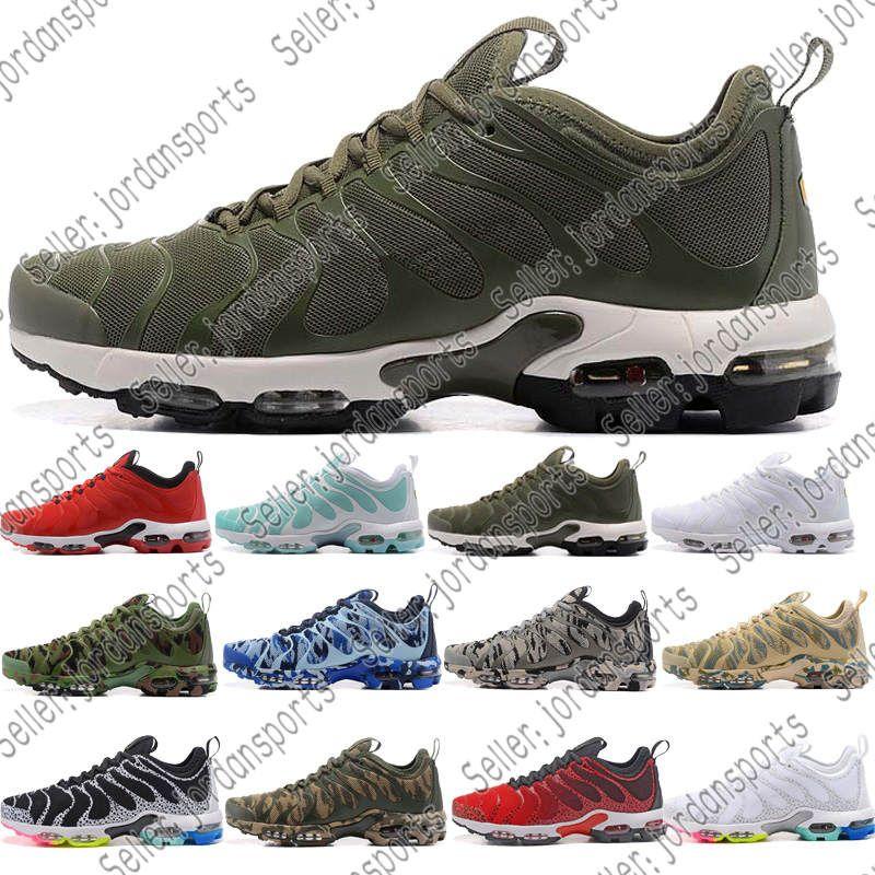 ceb23b6a4d9 2019 New TN Plus Running Shoes Classic Outdoor Run Shoes Tn Black ...