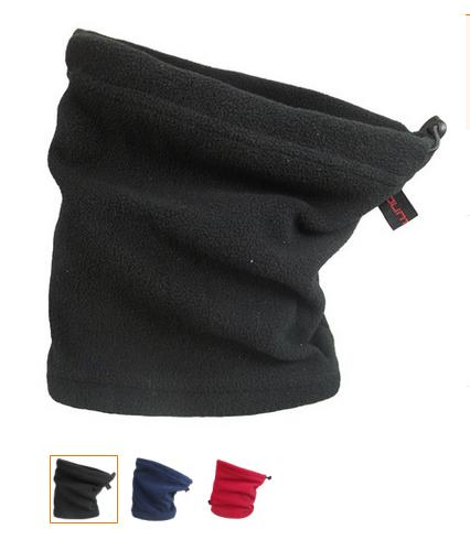 metà fuori 1d325 0f909 Sciarpa in pile con scaldacollo scaldamuscoli scaldacollo con cappuccio e  sciarpa termica per scaldare il campeggio