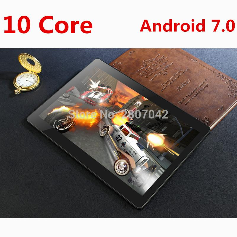 DHL Free 10 inch tablet 4G FDD LTE Deca Core 4GB RAM 64GB ROM 1920x1200 IPS Kids Gift Tablets 10 10.1 Android 7.0 Tablet pcs
