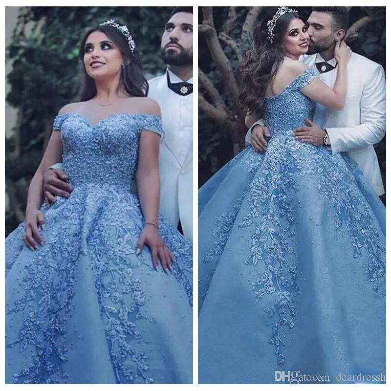 f38833245c 2019 Off Shoulder Lace Appliques Beaded Quinceanera Dresses Beaded Pearls  Celebrity Party Gown Satin Ruffles Abric Vestidos De Prom Gowns Red Dresses  Gowns ...