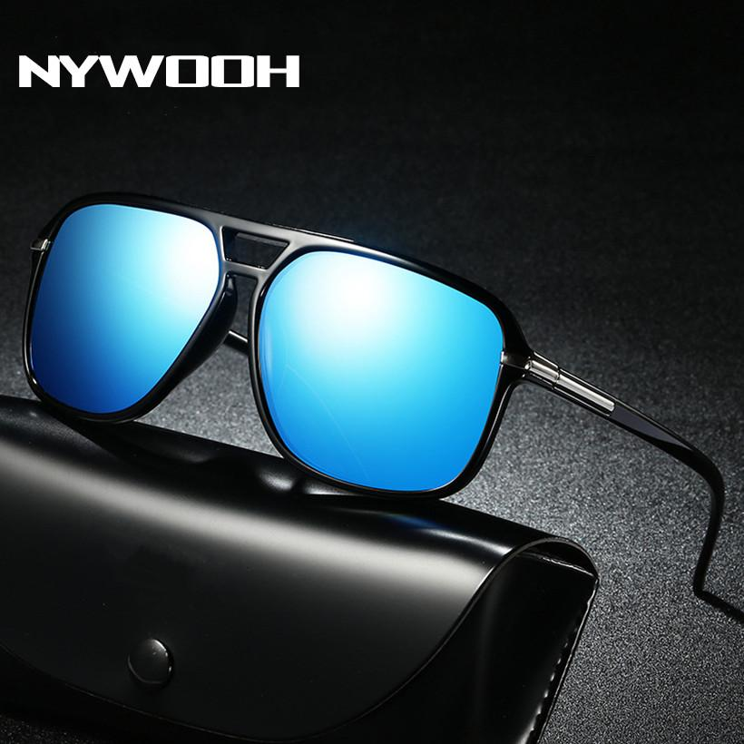 5215ff139fa NYWOOH Oversized Sunglasses Polarized Men Driving Sunglass Retro Brand  Designer Sun Glasses Mirror Retro Goggles Native Sunglasses Wholesale  Sunglasses From ...