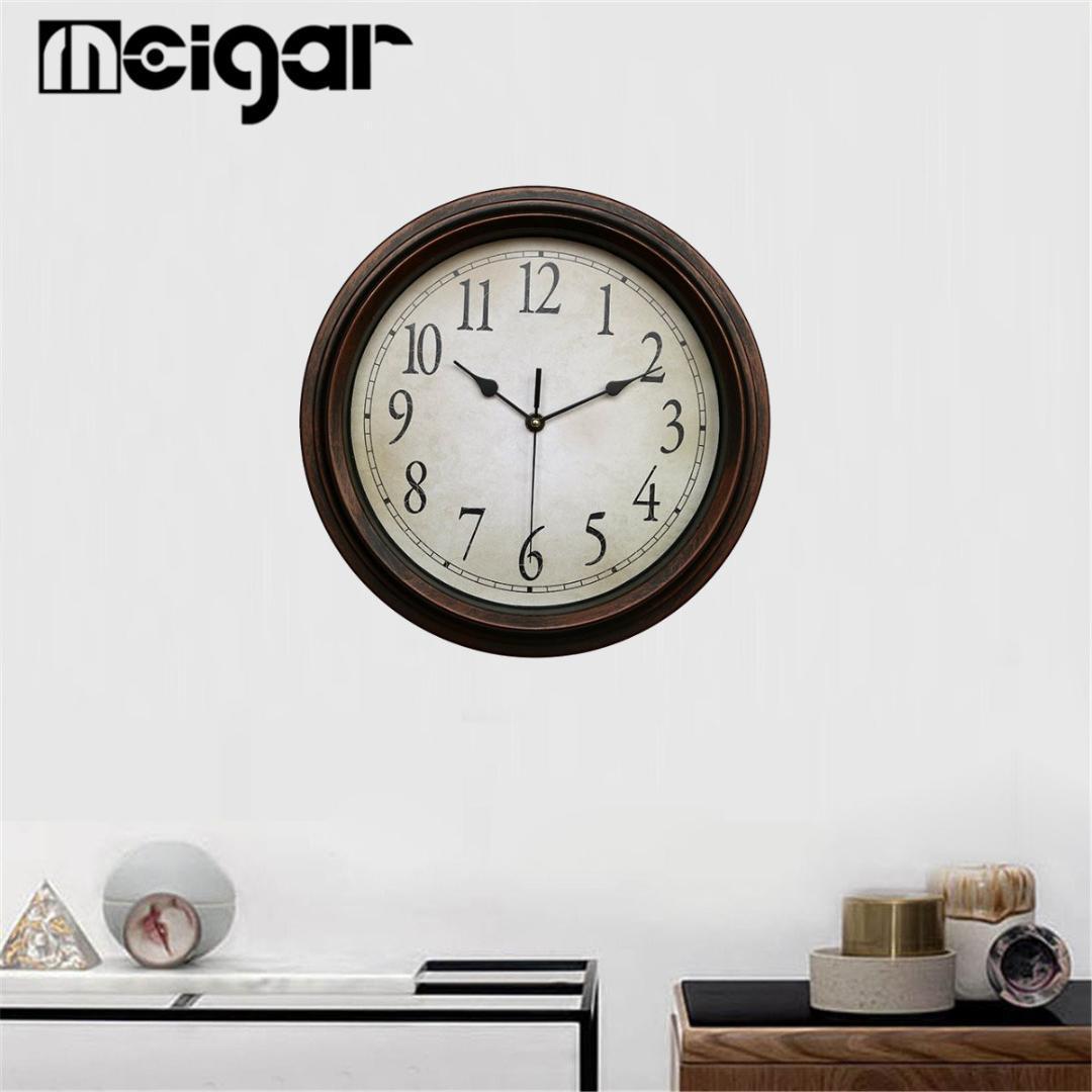 370310fb7490 Compre 12.5      32 Cm Clásico Reloj De Pared Redondo Sin Tictac ...