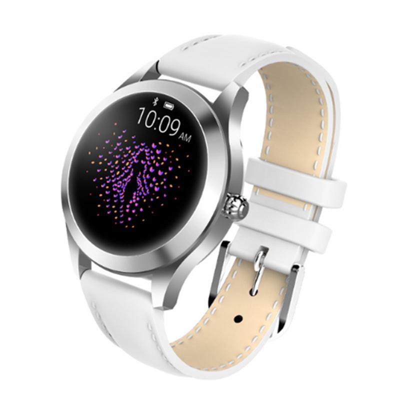 4 colors Kingwear kw10 smart watch ip68 waterproof fitness tracker VS X6 H1  H2 H8 S6 AK16 S3 women smartwatch for ios android