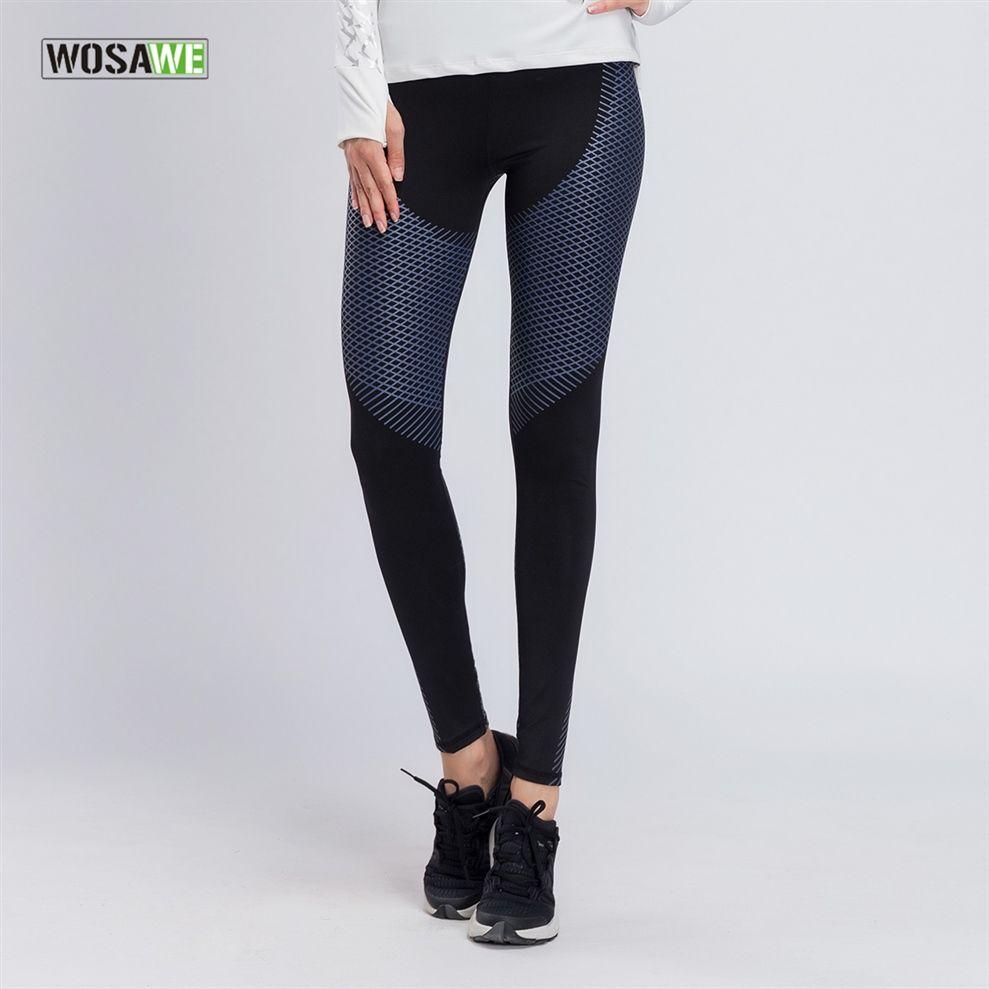 bd3cef56209f65 WOSAWE Women Yoga Pants Sports Running Sportswear Fitness Leggings Seamless  Gym Running Tights Pants #450107 UK 2019 From Move_up, UK $$30.96 | DHgate  UK