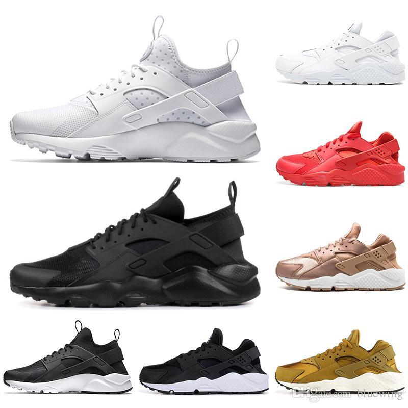 db6fd9828334c Designer Huarache Ultra Running Shoes for Men Women Triple White Black Red  Grey Mens Womens Huaraches Trainers Sports Shoe Sneakers Huarache Triple  Designer ...