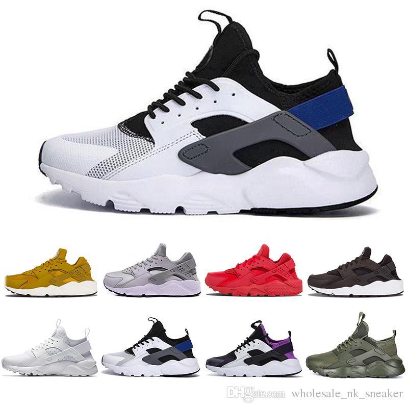 875a2c040103 New Original Air Huarache 4.0 1.0 Men Women Running Shoes White ...