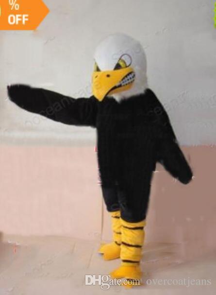 b6b30a55bdf Acheter Images Réelles Costumes De Mascotte Aigle De Fourrure Pour Adultes  Livraison Gratuite Bonne Qualité De  203.05 Du Overcoatjeans