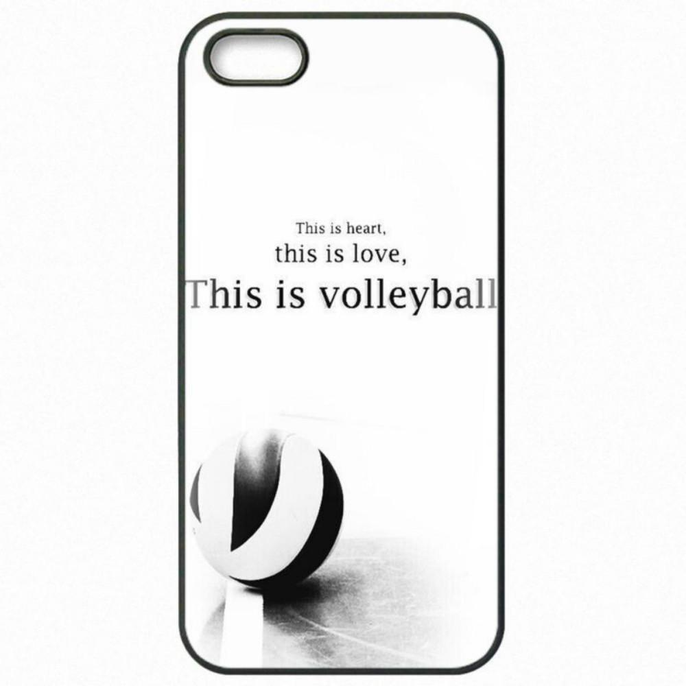 sports shoes bd1c1 f48dc Girls Sports Fans Peace Love Volleyball Phone Case For Iphone 5c 5s 6s  6plus 6splus 7 7plus Samsung Galaxy S5 S6 S6ep S7 S7ep