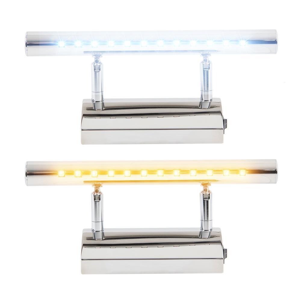 Lampada Da Bagno Per Specchio.Acquista Applique A Led Da Bagno Specchio Caldo Bianco Bianco