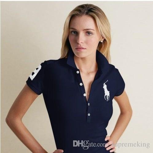 Qualité Acheter Polo T Haute Femme Lauren De Shirt Ralph vnwPm8ON0y